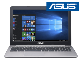 ASUS K501UB  – 15.6″ FullHD / i5-6200U / 1TB SSHD / 8GB RAM